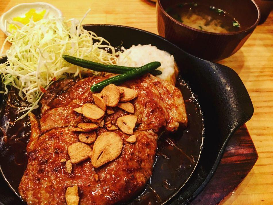 ポルコのトンテキ〜 Porksteak Pork Food And Drink Food Meat Close-up Japanese  Japanese Food Foodporn Foodphotography Foodphoto Porco