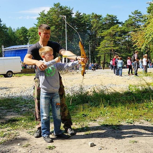 Робин Гуд Новосибирск дети лук стрелки сын  отдых Green Children F4F Sky Shooting Party Hot Photo Nature Boy Shooter