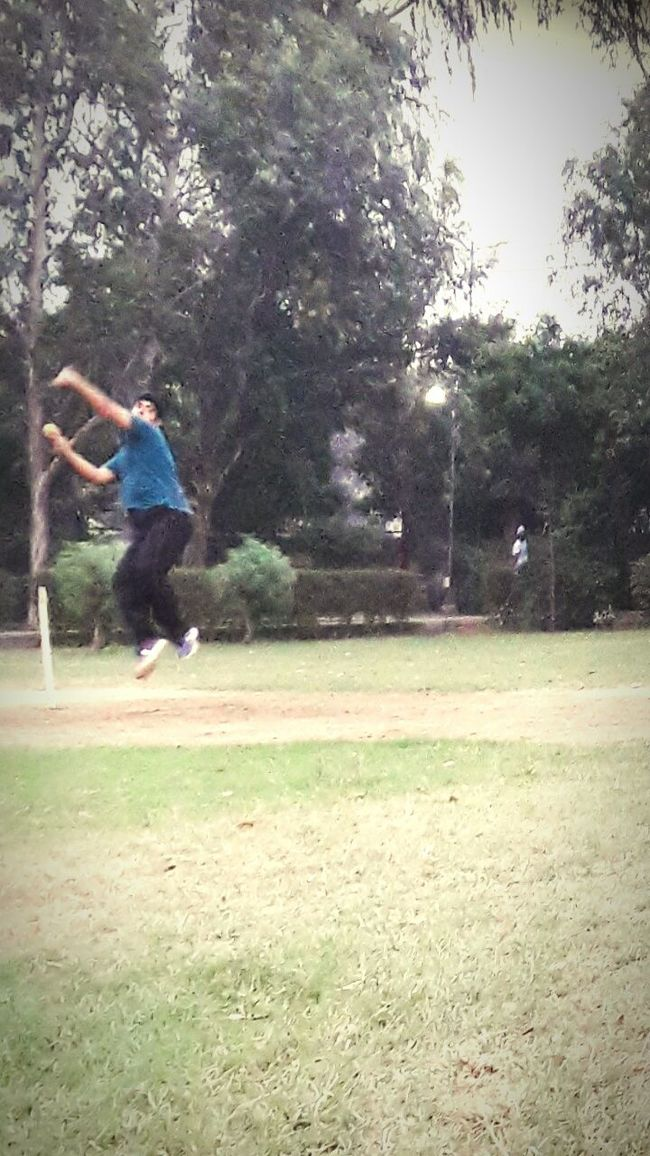 Sport In The City Cricketer Playing Cricket Sizedoesntmatter RespectGame EnjoyTheMoment Enjoyeverything LoveBowling