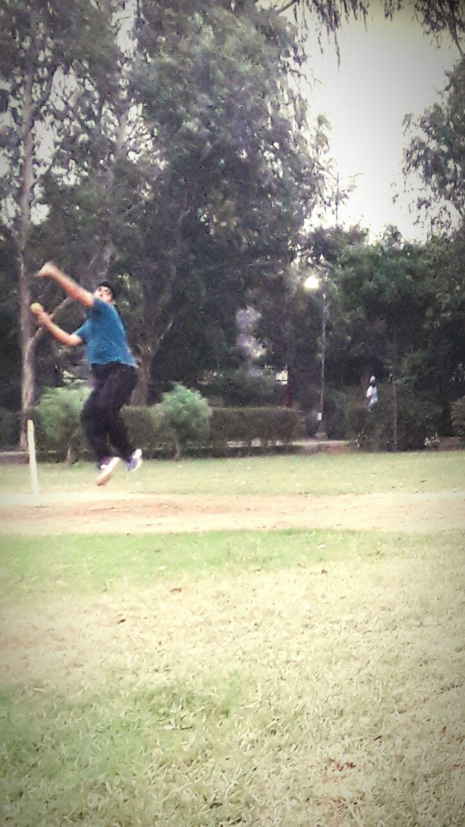 Sport In The City Cricketer Playing Cricket Sizedoesntmatter RespectGame EnjoyTheMoment Enjoyeverything LoveBowling