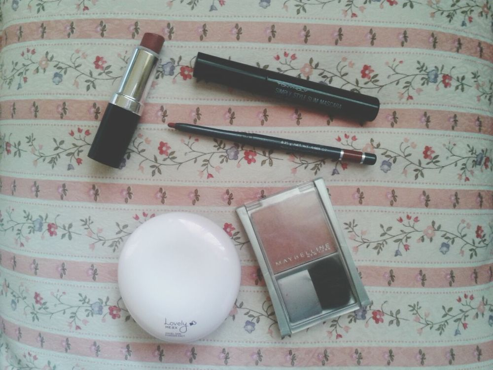 Today's weapons. Makeup Maybelline Tony Moly TheFaceShop