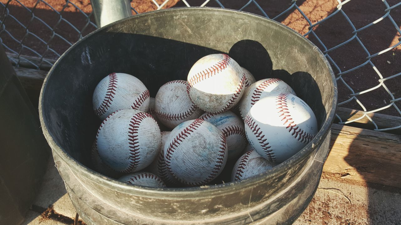 Beautiful stock photos of baseball, Ball, Baseball, Close-Up, Day