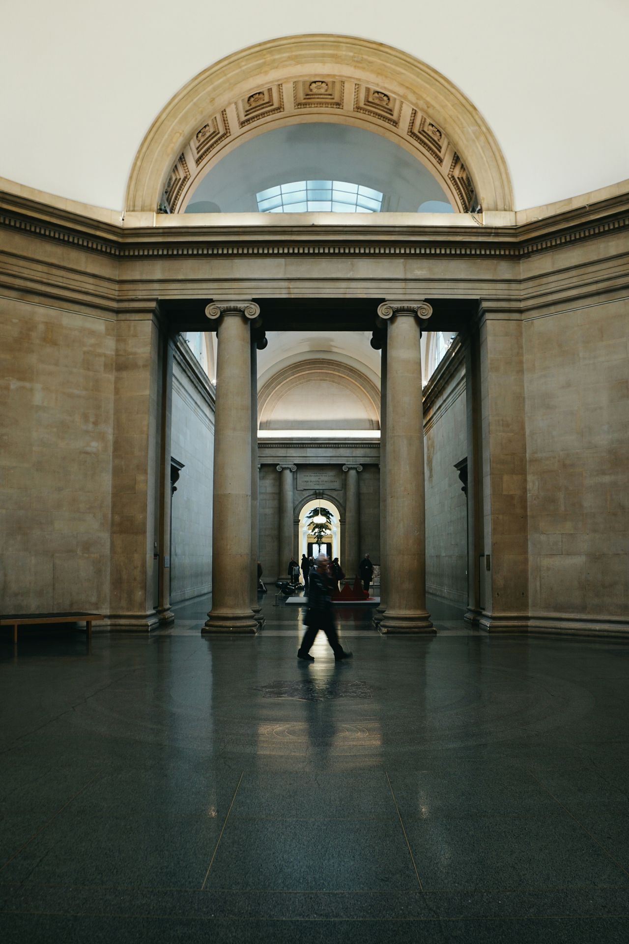 London Tate Britain Architecture Travel Destinations Tourism City Full Length Built Structure Indoors