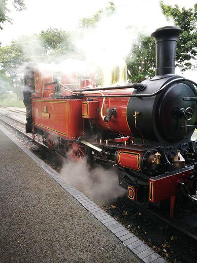 Isle Of Man Steam Train Transportation Mode Of Transport Outdoors Porterin Douglas Ridetherails Trainphotography Travel Photography Journey