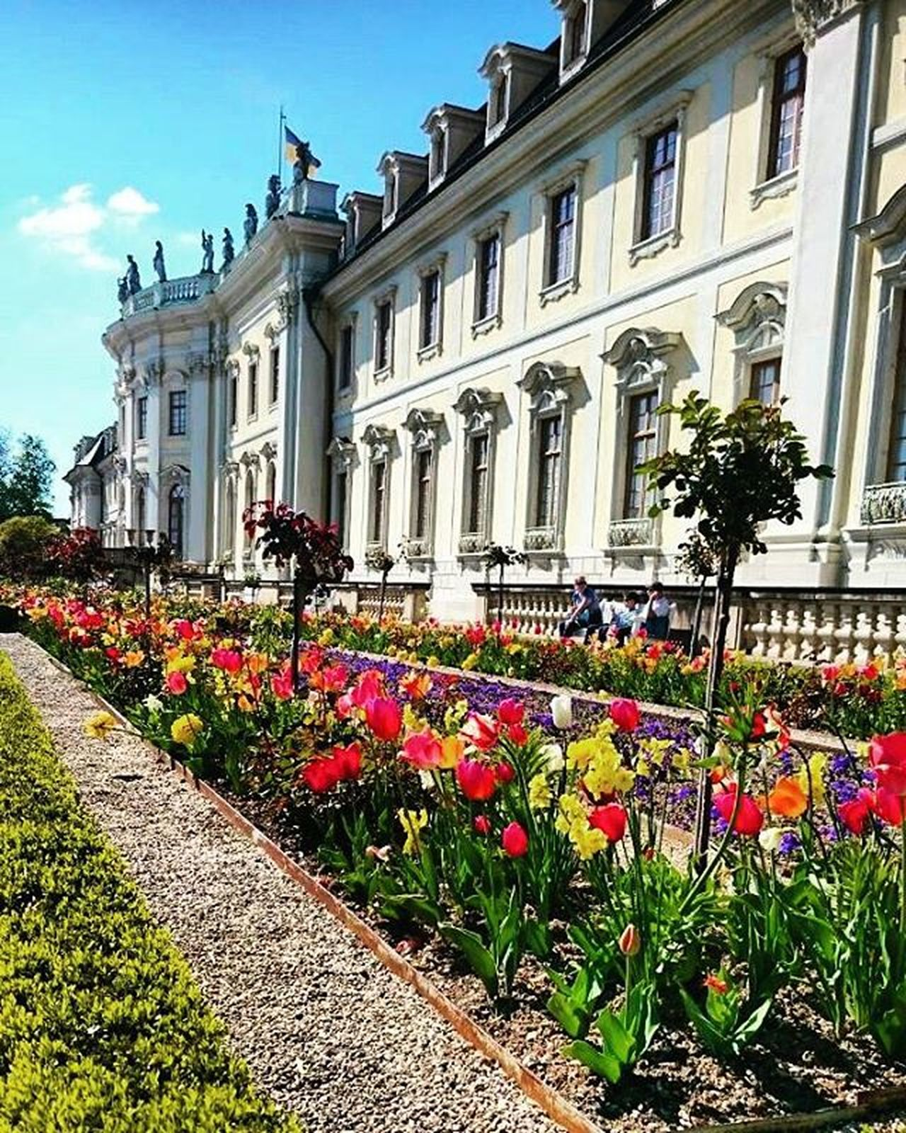 summer is coming🙆🌞 Ludwigsburgpalace Sunnymood Sun Lategram Instamood
