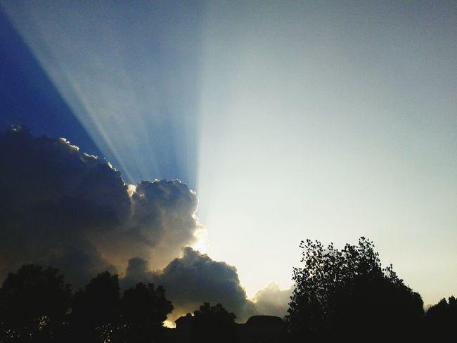 sun shine...behind cloud. .. Afternoon Enjoying The View