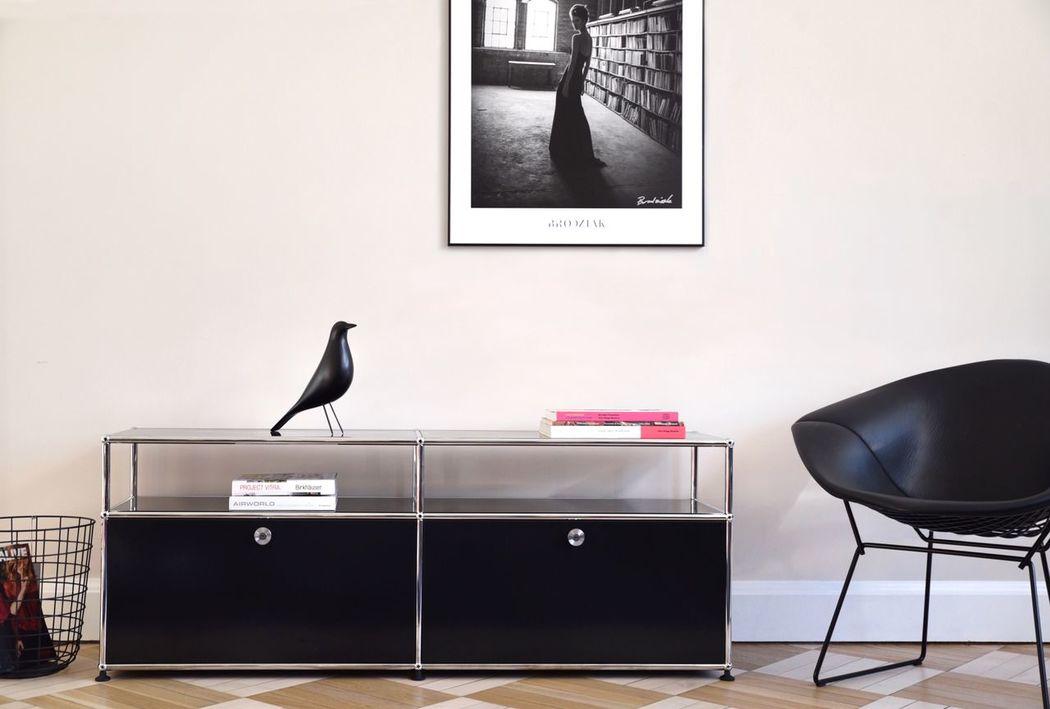 Interior Design Furniture Design Eames Bertoia Wall House