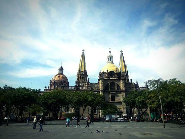 City Tourism Sky Architecture Day Religion Catedral Guadalajara