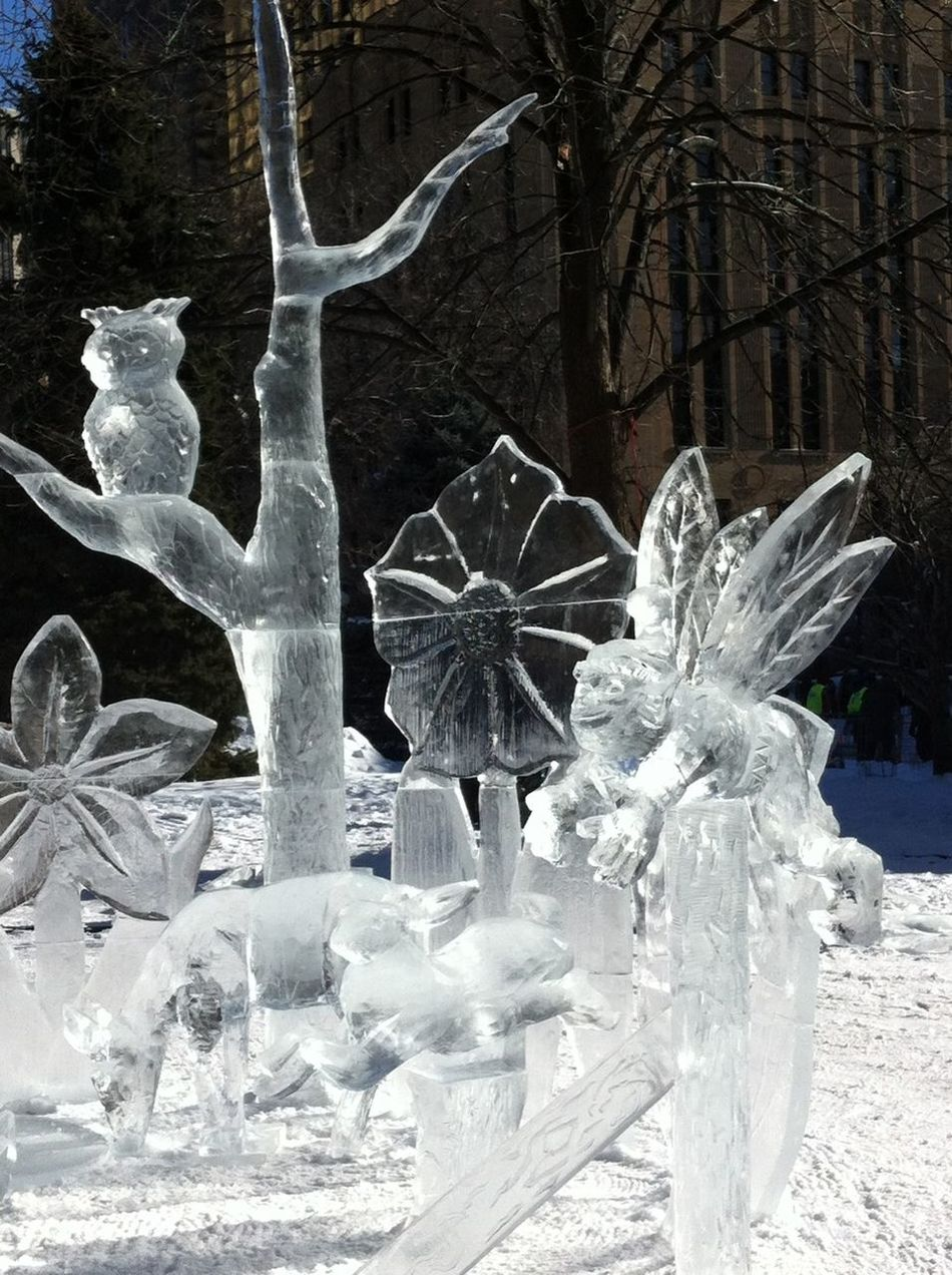 So icy beautiful ❤⛄❄ Art Ice Freezing Cold Journey Into The Light