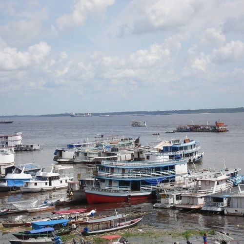 Brazil Amazonas Manaus Barcas barcosnavionatureboatshipriosmazonasamazonriver