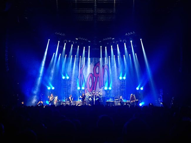 Korn in Poland Korn Lodz Live Music Lights Peoplewatching Euforia Atlas Arena