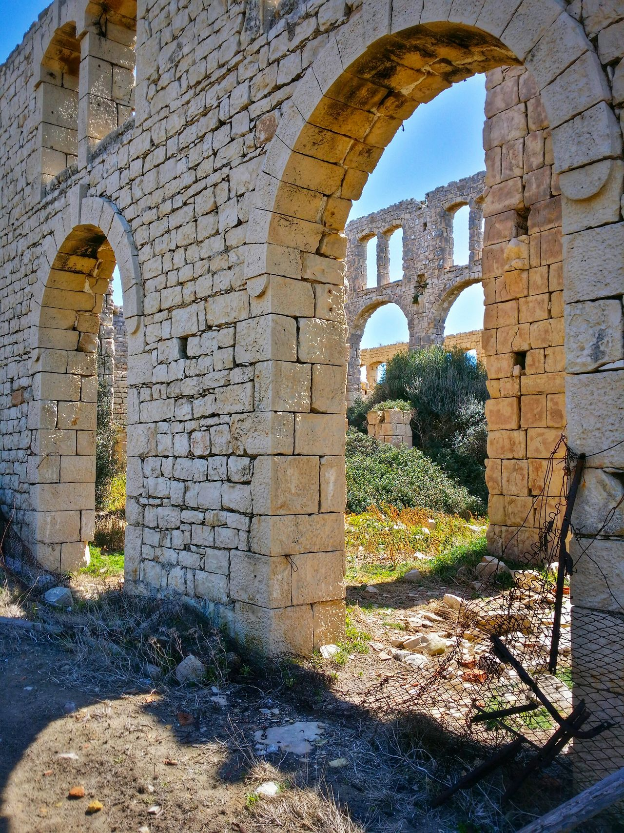 Sampieri Ragusa Sicily Italy Travel Photography Travel Voyage Traveling Mobile Photography Fine Art Architecture Early XX Century's Industrial Facilities Furnaces Ruins Long Shadows Mobile Editing
