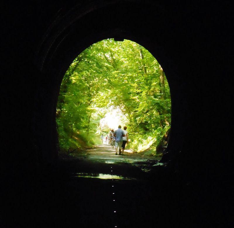 Old Railway Line Strawberry Line Somerset