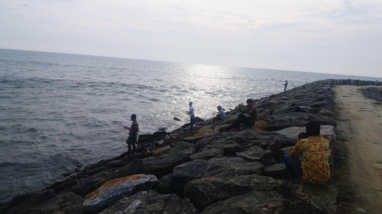 Calicut beech Sea