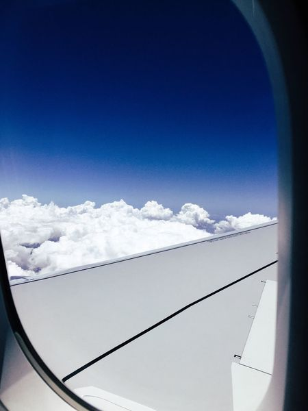 Plane Flying Travel Florida Orlando