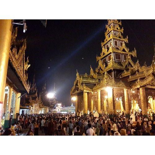 Fullmoonday Shwedagon TBT  Myanmar igersmyanmar instamyanmar