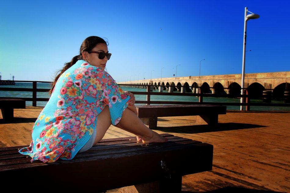 The Moment - 2015 EyeEm Awards Beach Malecon Girl Playa