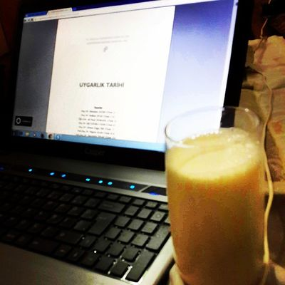 Milk + civilization of history 02:39am. but want to sleep... :(