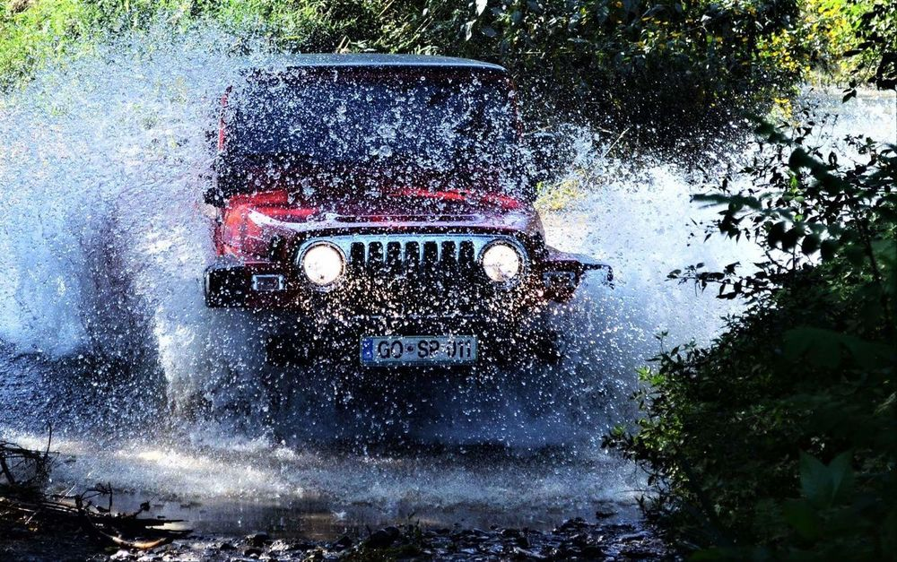 Transportation Water Outdoors Land Vehicle Car Mode Of Transport Day Technology No People Tree Close-up Mountain Range JeepneyMoments Jeep Life ❤ Jeeplove Lifestyles Mountain Nature Driving Jeep Wrangler Unlimited Road Jeepwrangler EyeEm Selects Road Sign