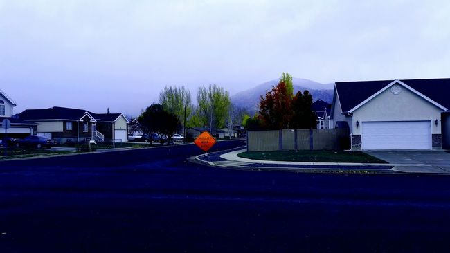 Rainy Neighborhood Original Edits Scenery Suburbs Pretty Fog What I See Custom Filter Original Town What I See