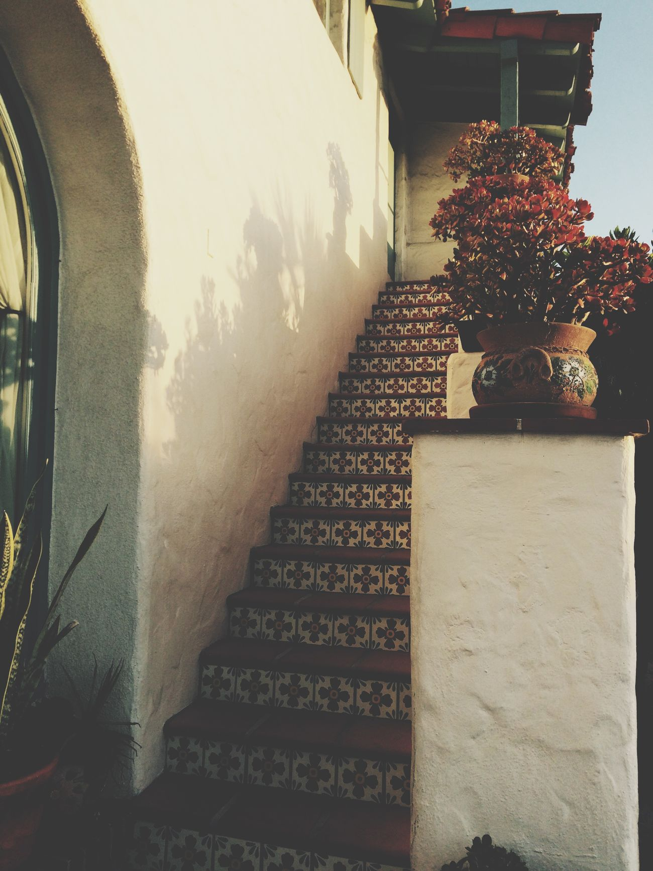 San Diego Stairs Old Town San Diego Spainish Culture