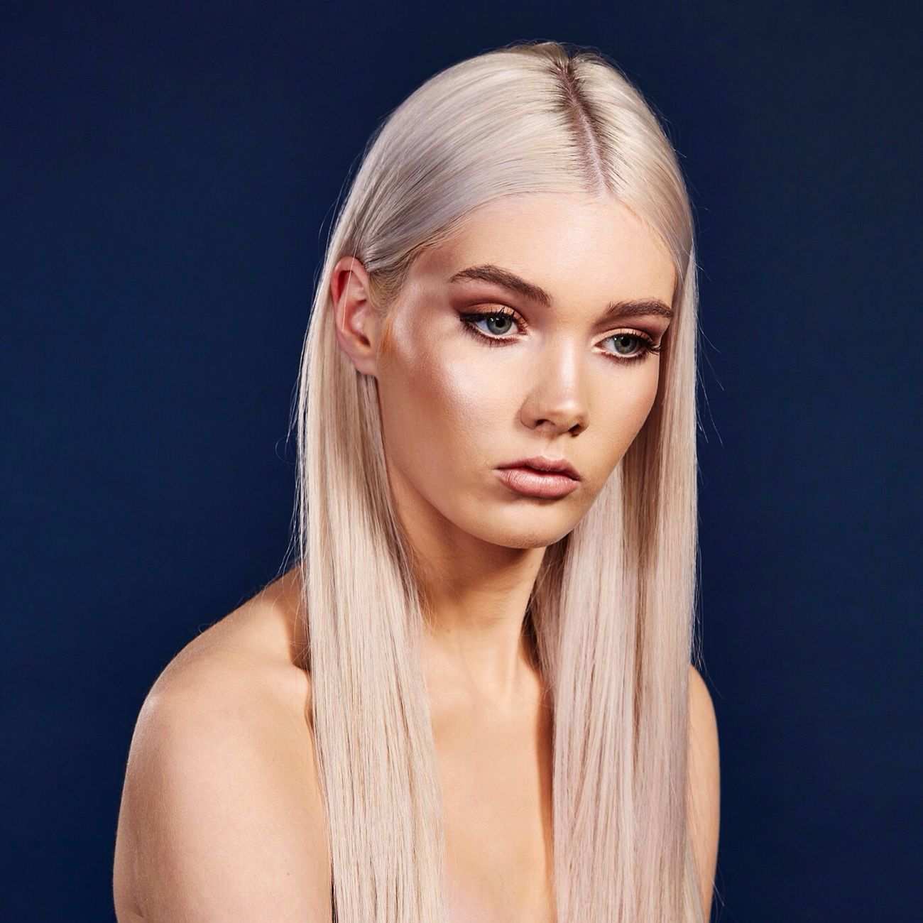 Elise @elisefaust | MUA @jaime.a_makeup | Hair @visionsofhair_revesby Beauty Sydney, Australia Australia Studio Nicgossage.com