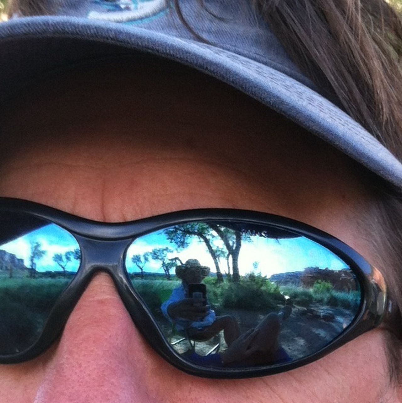 Cottonwoods and meadow. EyeEm Best Shots Reflection Eye4photography  The Explorer - 2014 EyeEm Awards