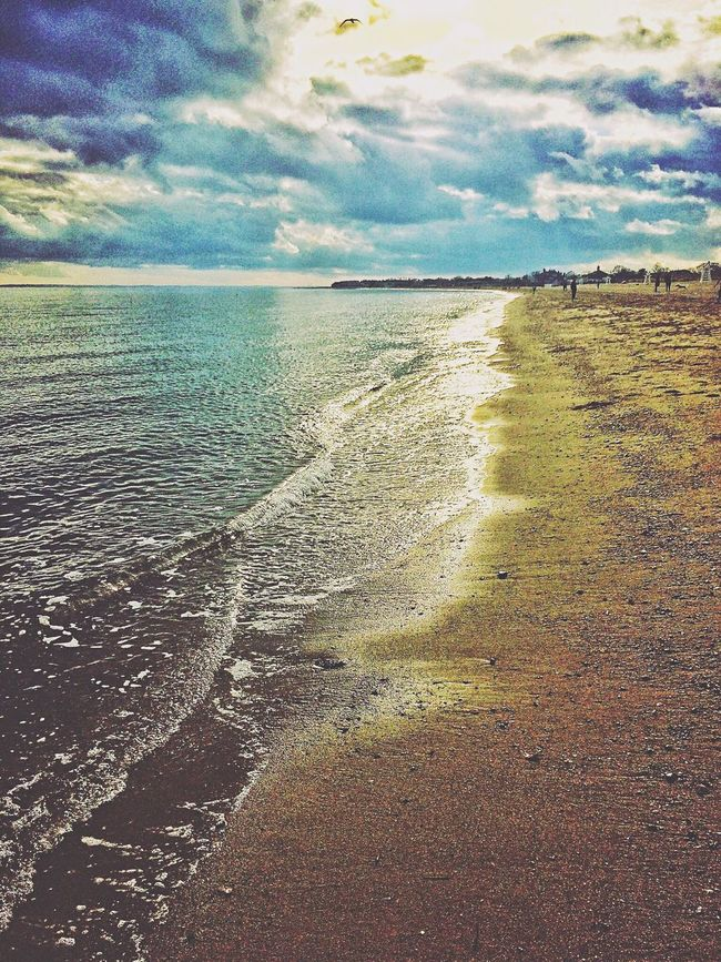 Penfield Beach in Fairfield Connecticut Long Island Sound Beachphotography Beach Photography Water IPhoneography IPhone Photography USA Nature Outside Photography Outside Outdoors Outdoors❤ Outdoor Photography