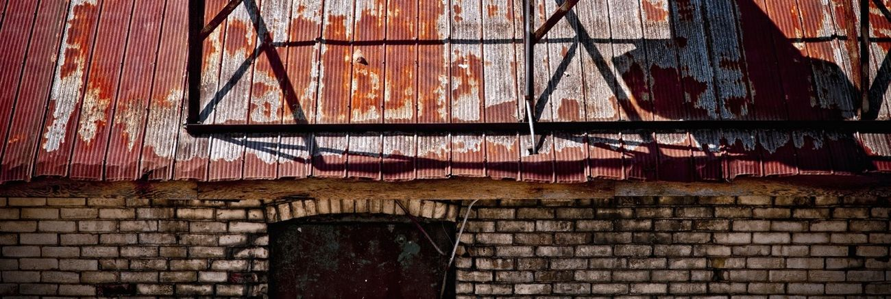Roof Rooftops Abandoned Places Ayr