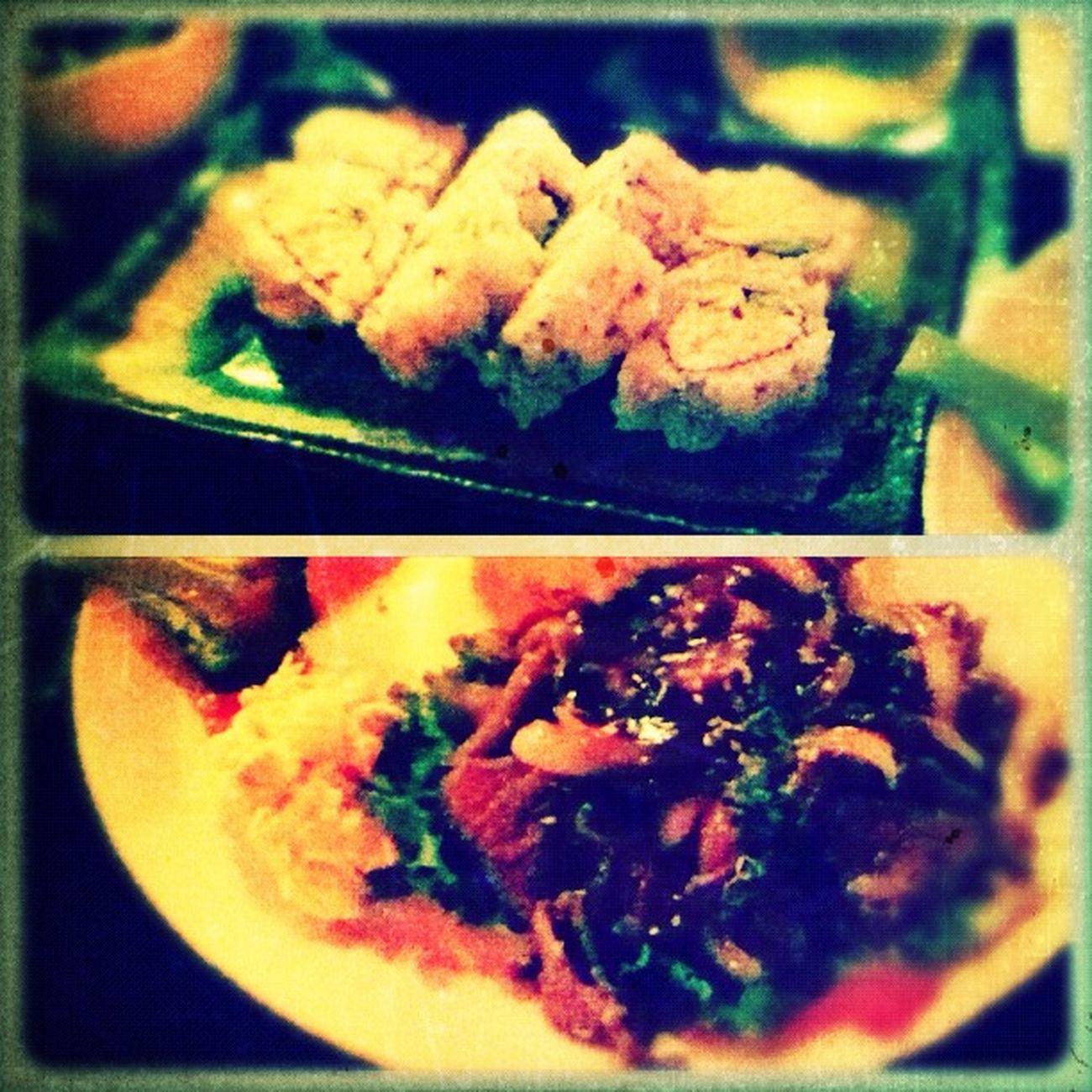 sushi at Yomama Sushi Sushi