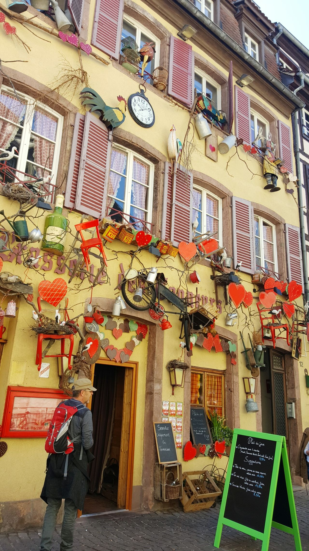 Architecture Built Structure Building Exterior Multi Colored City Abstract Abstract Art Art ArtWork Outdoors Travel Destinations Colmar, Alsace, France