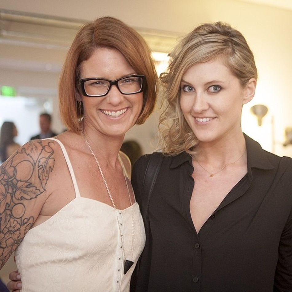 @VenusLegacy Event with @RachaelDickhute @EverythingHauler RachaelDickhute Fblogger Love you girlfriend so happy to style your hair up a bit. Let's get you Blondebombshell Blonder before going dark??????