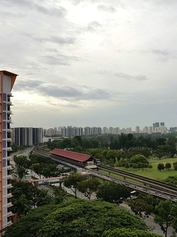 Good Morning from Lakeside, Singapore Architecture Lake View Train Station Singapore Housing Housing Estate Singapore View Garden