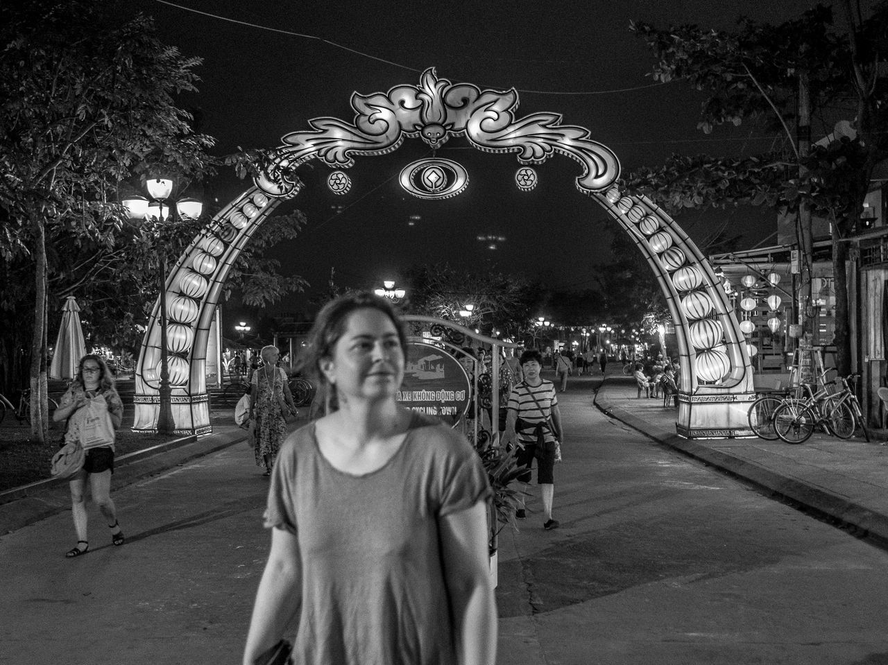 Welcome to Hoi An, Vietnam Night Vietnam FUJIFILM X-T2 Hoi An Black And White Monochrome Photography Monochrome Architecture
