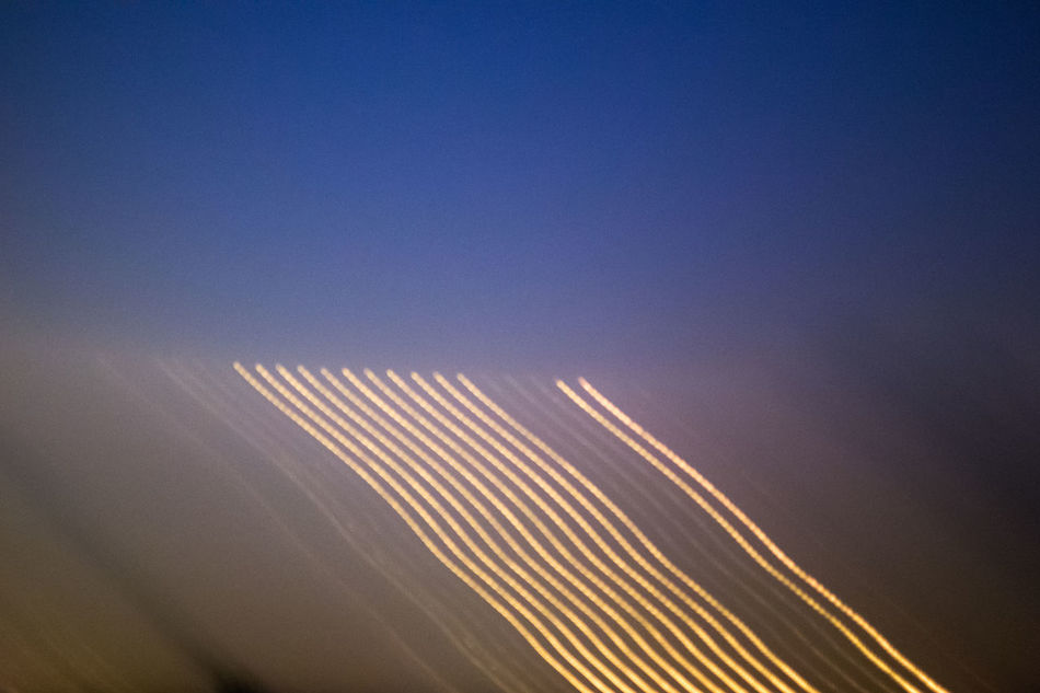 Abstract Diagonal Landscape Lightpainting Long Exposure Nature No People Outdoors Sky Streak Of Light