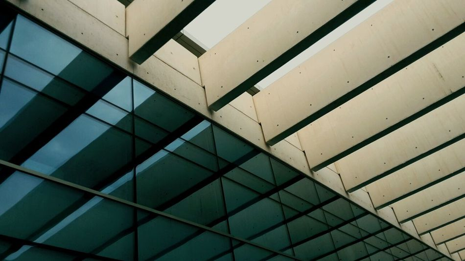 Architecture Building Glass Beams Openroof SPAIN
