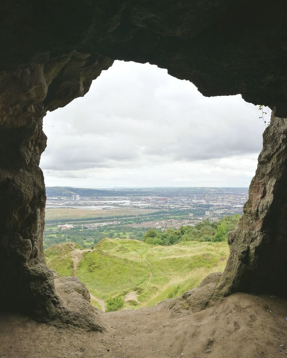 Cave Cavehill Ireland Northern Ireland Climbing Mountain View Belfast First Eyeem Photo