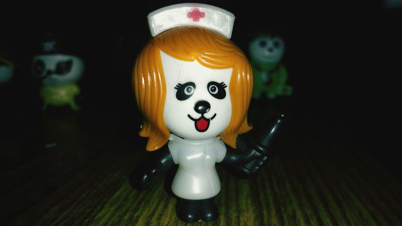 Introducing GEMS Panda:- Nurse Panda Doctor Panda's Assistant Cute Nurse