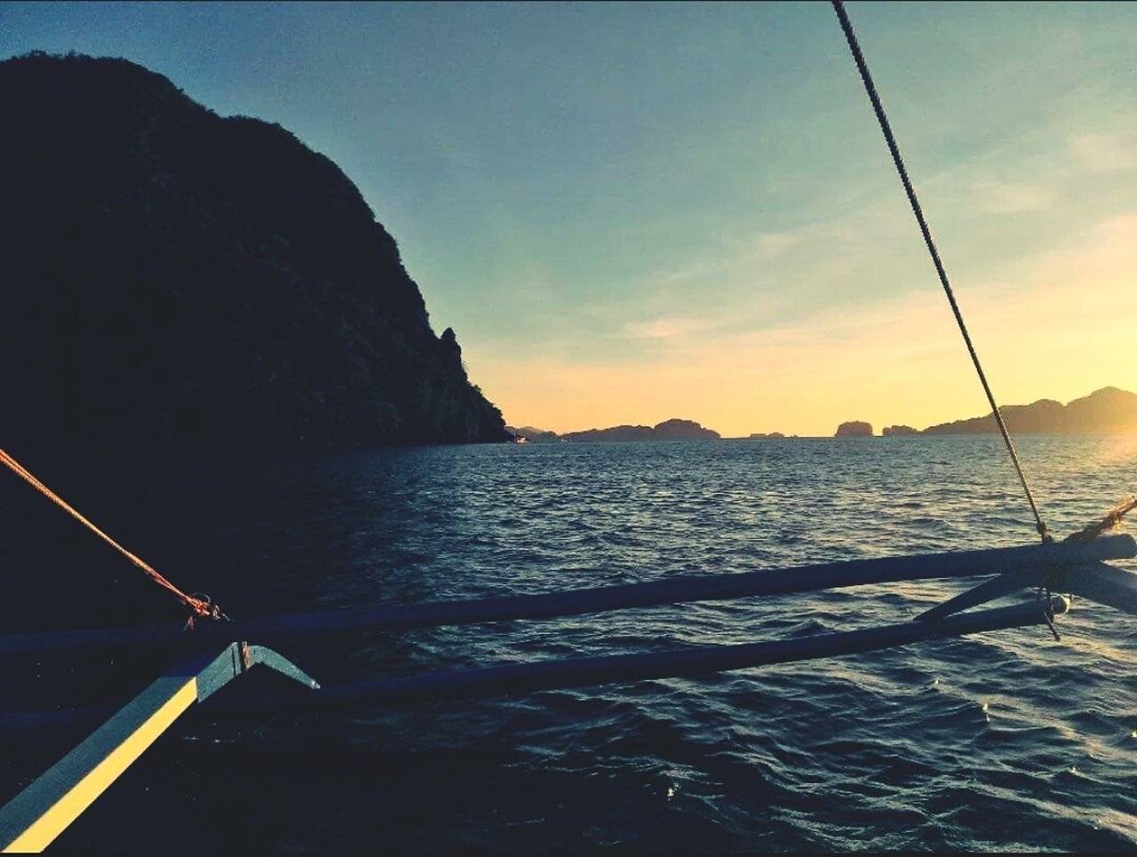 Going To The Sunset Best Feeling Sea Life