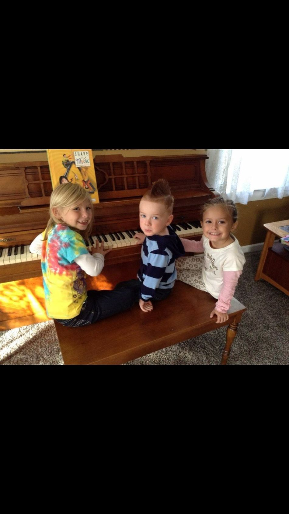 Piano Moments Childhood Casual Clothing Full Length Domestic Animals One Animal Baby Indoors  Food Animal Themes Illuminated Babyhood People Mammal Day Family Time Cousins ❤ Mohawk Forever Young Pianos For Peace Music Together Family Matters Piano Moments