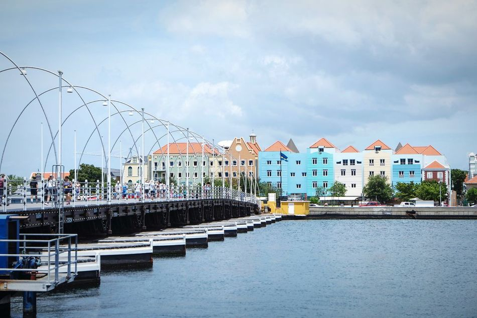 Curacao buildings Water Sky Outdoors No People Cloud - Sky City Day Architecture City EyeEm Best Shots Open Edit Fresh 3 Eye4photography  Landscape Travel Destinations Cityscape Building Exterior Building And Sky