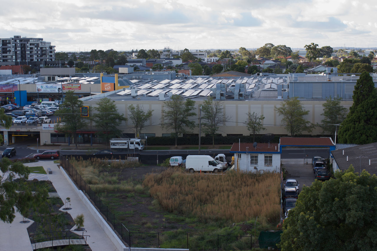 Architecture Australia, Building Exterior Built Structure Day High Angle View Horizon Horizon Over Water House Melbourne Melbourne City No People Outdoors Path Plant Residential Building Sky Sky And Clouds Skyline Suburban Suburbs Victoria West-side