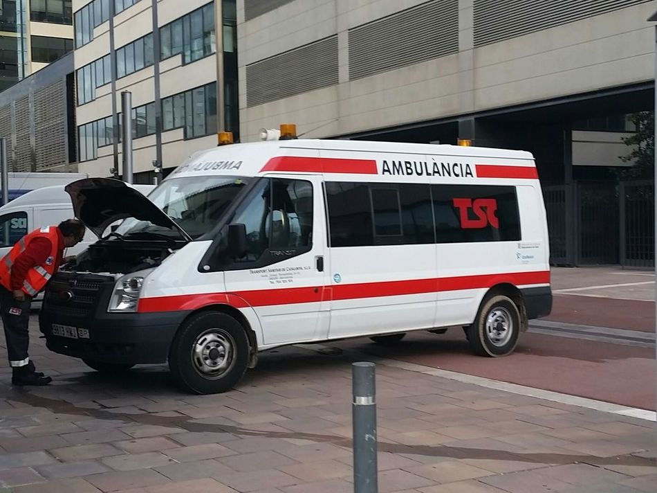 Ambulance Oops Out Of Service No Emergencies Today