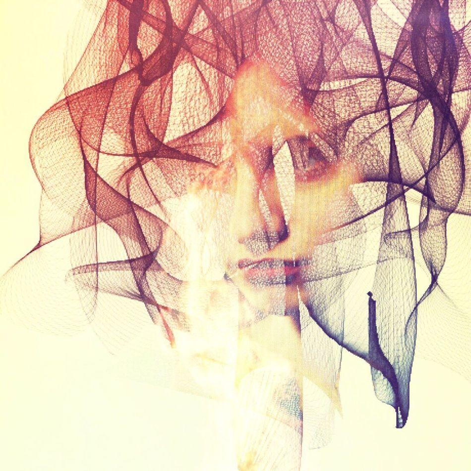 SYMAPS Conceptual Abstract Double Exposure Portrait