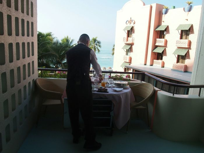 Preparation of Breakfast Hawaii Royalhawaiian Waikiki Waikiki Beach Oahu
