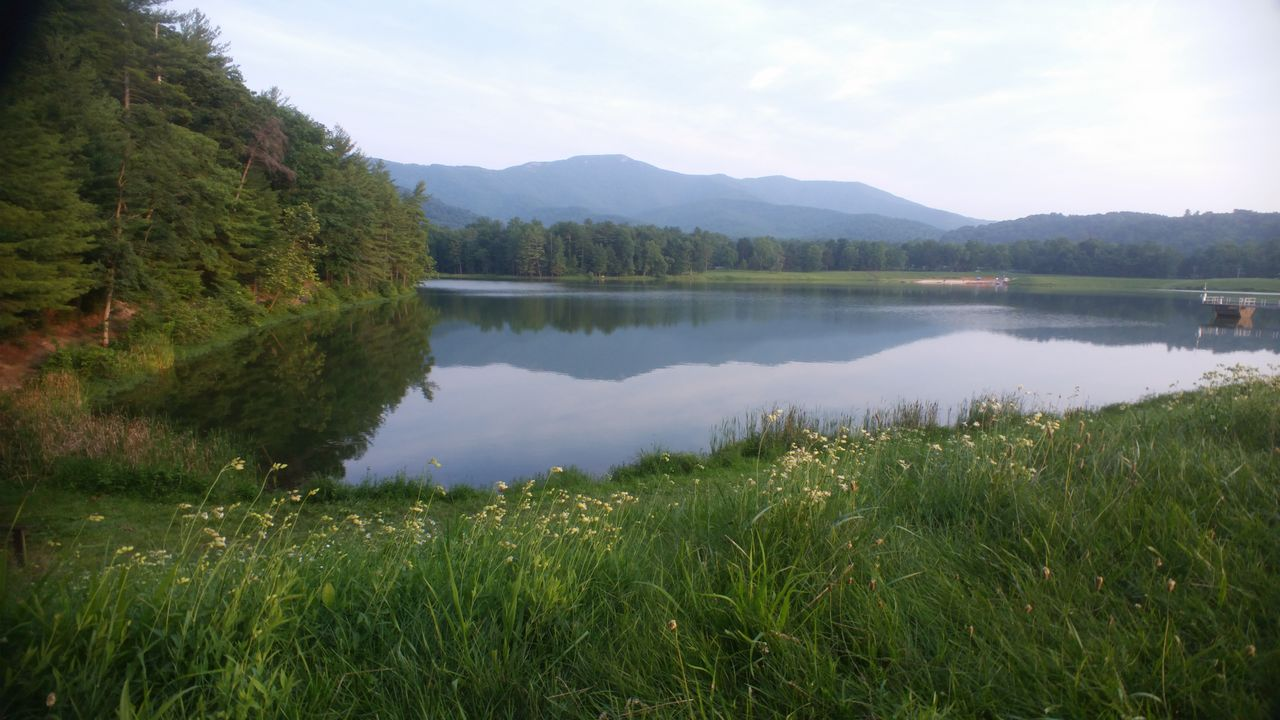 Beauty In Nature Lake Nature No People Reflection Remote Tranquility lake arrowhead Luray