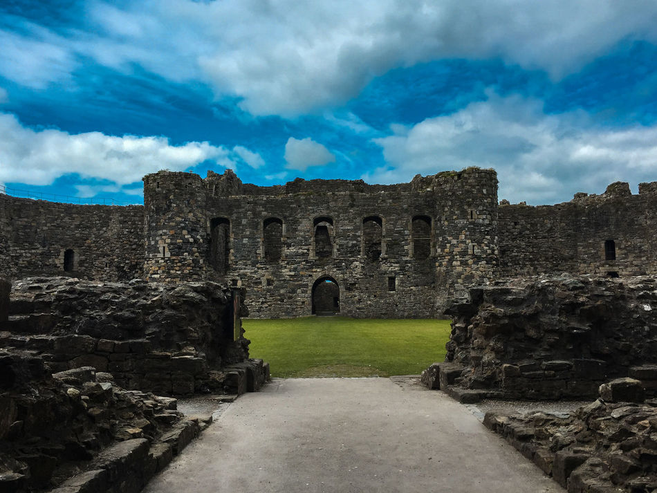Ancient Architecture Blue Building Exterior Built Structure Castle Cloud - Sky Cloudy Day Entrance Famous Place Fort History Narrow Old Old Ruin Outdoors Ruined Sky The Past The Way Forward Travel Destinations