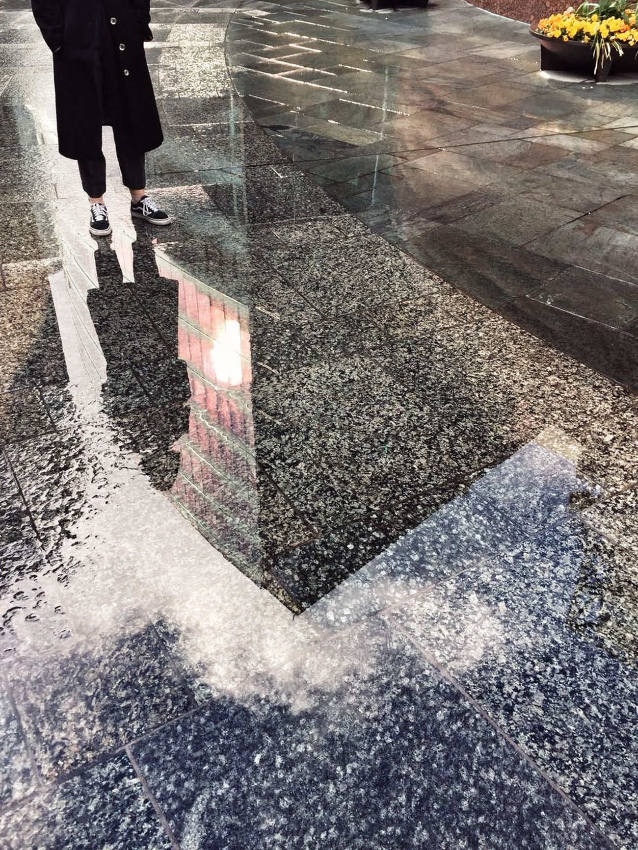 By best friend legs's reflection Reflection Water Wet Day Outdoors Shadow Human Leg Road One Person Real People Trip Take Photos Inghilterra Taking Photos Loveit Hello World Viaggio Traveling Photo Exploring Travel Photography Neighborhood Map The Street Photographer - 2017 EyeEm Awards The Architect - 2017 EyeEm Awards EyeEmNewHere