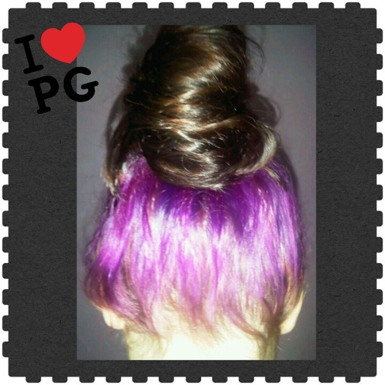 Amo a mi cabello Violeta
