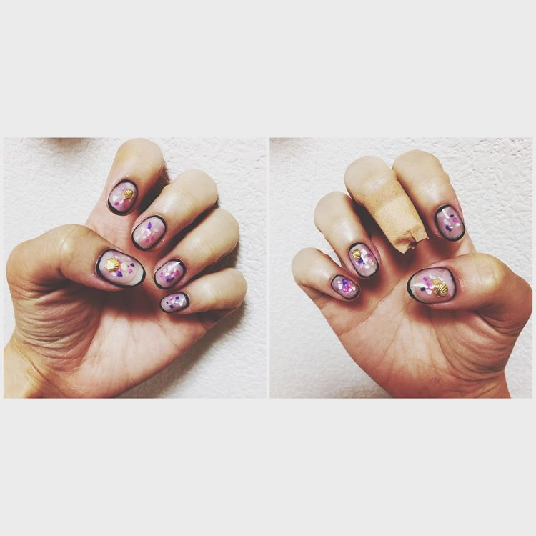 Nail New Japan Selfnail Self Shell シェル ネイル セルフネイル セルフ First Eyeem Photo
